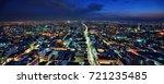 mexico city skyline | Shutterstock . vector #721235485