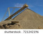 mine elevators  they transport... | Shutterstock . vector #721242196