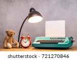 Retro Mint Green Typewriter...
