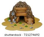 vector illustration of cartoon... | Shutterstock .eps vector #721274692