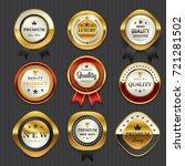 premium commercials golden... | Shutterstock .eps vector #721281502