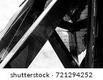 commercial building in hong... | Shutterstock . vector #721294252
