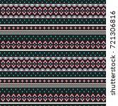 seamless vector decorative... | Shutterstock .eps vector #721306816