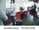 startup business team... | Shutterstock . vector #721321396