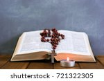 Bible Crucifix And Beads With ...
