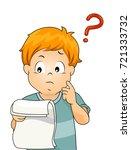 illustration of a kid boy... | Shutterstock .eps vector #721333732