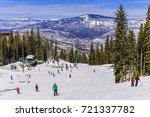 View Of A Colorado Ski Resort...