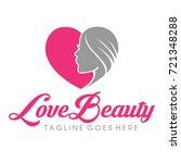natural beauty logo vector | Shutterstock .eps vector #721348288