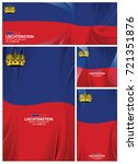 liechtenstein flag abstract... | Shutterstock .eps vector #721351876