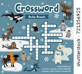 crosswords puzzle game of... | Shutterstock .eps vector #721356925
