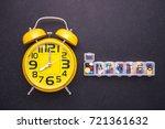 7 day plastic pill organizer... | Shutterstock . vector #721361632