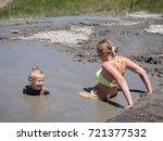 mother gently bathing my