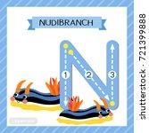 letter n uppercase cute... | Shutterstock .eps vector #721399888