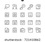 emotions ui pixel perfect well... | Shutterstock .eps vector #721410862
