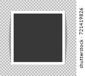 square frame template with... | Shutterstock .eps vector #721419826