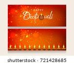 website header or banner set...   Shutterstock .eps vector #721428685