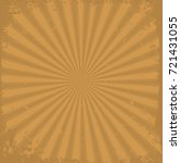 Orange Grunge Rays Background