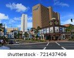 cityscape of guam   guam usa  ... | Shutterstock . vector #721437406