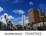 cityscape of guam   guam usa  ... | Shutterstock . vector #721437412