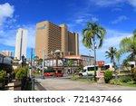 cityscape of guam   guam usa  ... | Shutterstock . vector #721437466