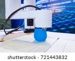 three dimensional printing... | Shutterstock . vector #721443832