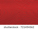 Black And Red Dotted Halftone...