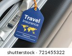 travel safety and travel... | Shutterstock . vector #721455322