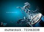 elegant energy drink ads ... | Shutterstock .eps vector #721463038