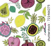 Seamless Pattern With Herbs ...