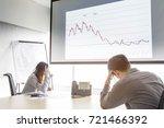 serious and fail business man...   Shutterstock . vector #721466392