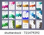 brochure template  flyer design ... | Shutterstock .eps vector #721479292