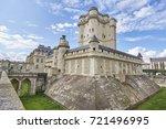 Castle of Vincennes in Vincennes, Paris. France. French royal castle from the Castle of Vincennes in Vincennes, Paris. France. French royal castle from the XIV and XVII centuries