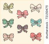 Cute Polka Dot Ribbons