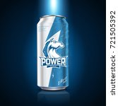 energy drink package design ... | Shutterstock .eps vector #721505392