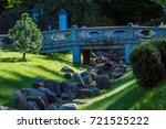 bridge in park | Shutterstock . vector #721525222