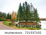 autumn in the catherine park of ... | Shutterstock . vector #721537102