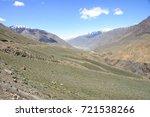 beautiful remote tajik national ... | Shutterstock . vector #721538266