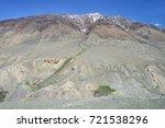 beautiful remote tajik national ... | Shutterstock . vector #721538296