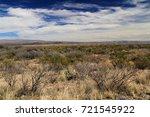 scenic desert landscape in big... | Shutterstock . vector #721545922