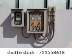 control cabinets   cabinets... | Shutterstock . vector #721558618
