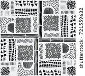seamless african pattern.... | Shutterstock .eps vector #721559632