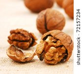 Wallnuts Close Up