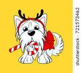 artoon character yorkshire... | Shutterstock .eps vector #721573462