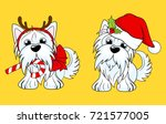cartoon character yorkshire... | Shutterstock .eps vector #721577005