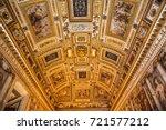 rome  italy   september 09 2017 ... | Shutterstock . vector #721577212