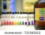 preparation of standard ph... | Shutterstock . vector #721582012