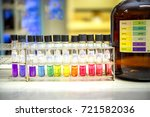 preparation of standard ph... | Shutterstock . vector #721582036