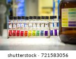 preparation of standard ph... | Shutterstock . vector #721583056
