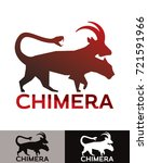 chimera is a vector...   Shutterstock .eps vector #721591966