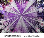 colorful background. flower and ... | Shutterstock . vector #721607632
